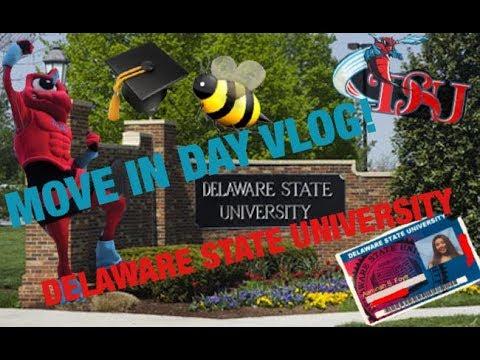 VLOG: COLLEGE MOVE IN DAY!! DELAWARE STATE UNIVERSITY C/O 2021!
