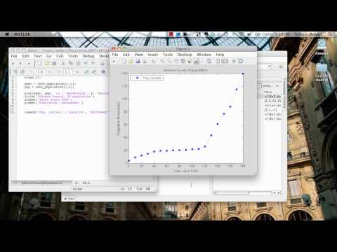 Polynomial regression in MATLAB