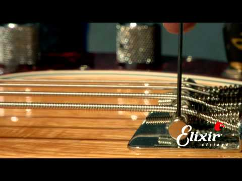 Setting Up Your Bass Guitar: Bridge Action Height Adjustment  (Step 2 of 4)