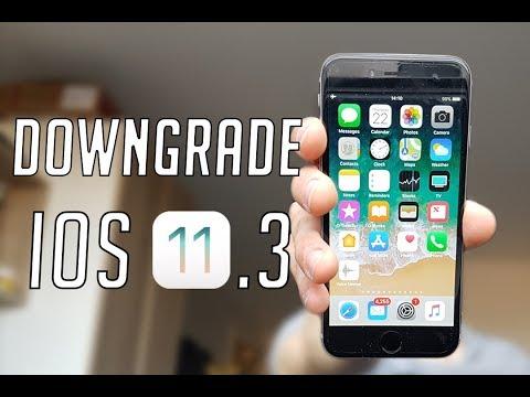 Downgrade iOS 11.3 (beta) to iOS 11.2.6 - NO DATA LOSS