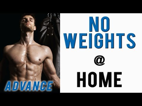 Male Model Workout Routine - Best Upper Body Workout At Home