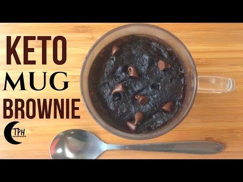 Keto Microwave Brownie | 2-Minute Low-Carb Mug Brownie Recipe