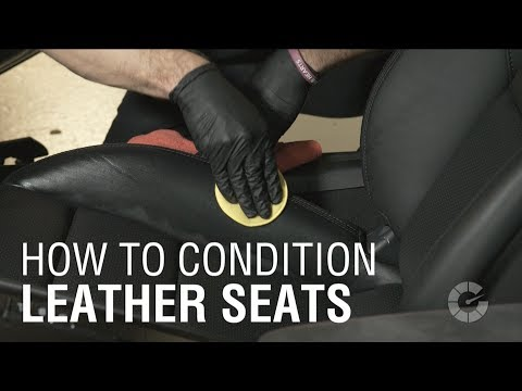How To Condition Leather Seats | Autoblog Details