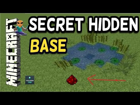 Minecraft - 100% Secret Hidden BASE Safe House!!! TU41 - Tutorial PS4 , XBOX