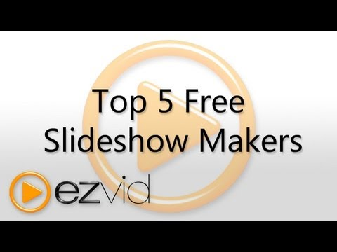 Top Five Free Slideshow Makers