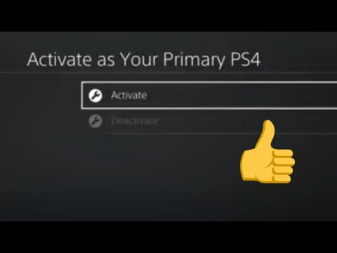 Why activate as primary PS4 console | Game share. Save money! |