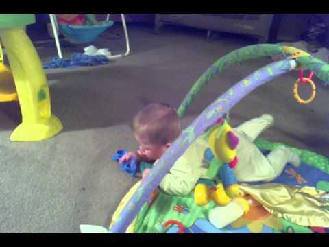 Jackson trying to crawl