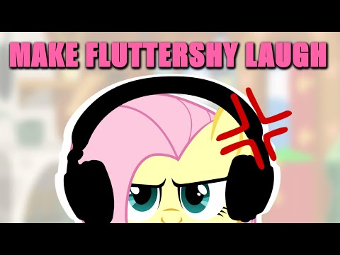 Fluttershy has a Challenge 🍉   Make Her Laugh!