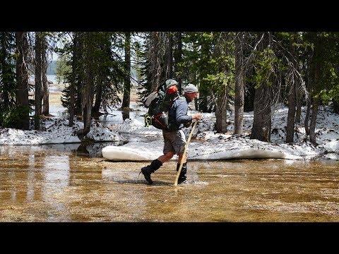 Backpacking Yellowstone National Park: A Snowy, Early Season Shoshone Lake Adventure