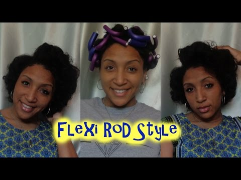 Quick & Easy Flexi Rod Style | For Any Hair Type (Natural, Transitioning, Texturized & Relaxed)
