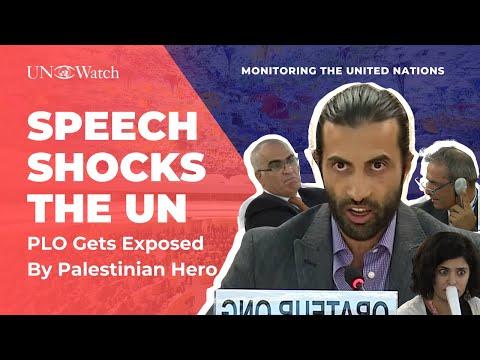 Shocked U.N. Delegates as PLO Abuses Exposed by Palestinian Hero