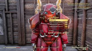 Fallout 76 - Hellfire Power Armor Paint! NW Overseer Rank 100 Reward