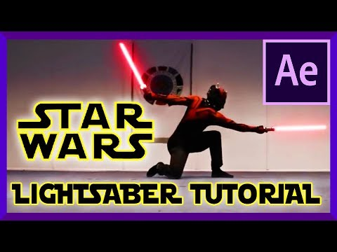 Star Wars LIGHTSABER TUTORIAL | Adobe After Effects