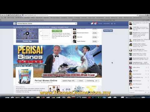Cara Buat FB Page Tab untuk Jejak Poslaju