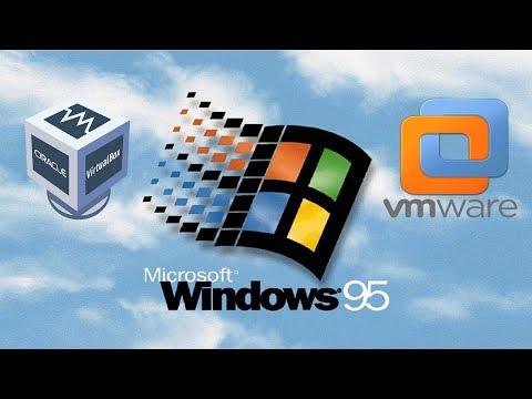 Installing Windows 95 in Virtualbox vs Vmware