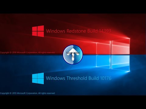 Installing and Upgrading Windows Threshold Build 10176 to Windows Redstone Build 14393