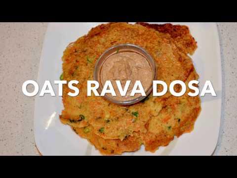 Oats rava dosa | oats dosa | healthy dosa