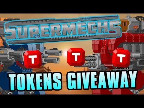 [CLOSED] 2500 SuperMechs Token Giveaway (5 Winners, 500 Tokens Each)
