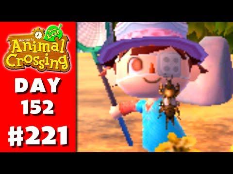Animal Crossing: New Leaf - Part 221 - Mole Cricket (Nintendo 3DS Gameplay Walkthrough Day 152)