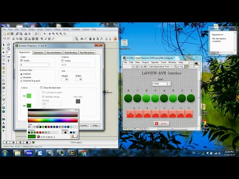 LabVIEW-Microcontroller serial Interface #2-Enhancing GUI