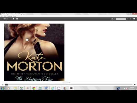 Download e-books with Adobe Digital Editions