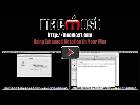 Using Enhanced Dictation On Your Mac (#1011)
