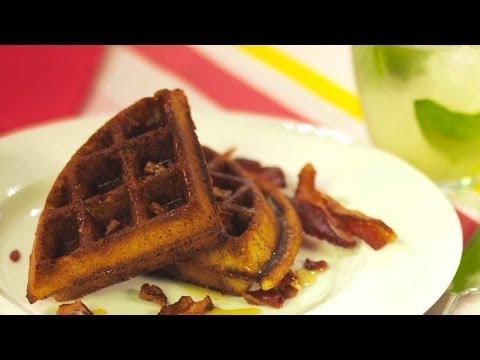 Gluten Free Waffles - Gluten Free with Alex T