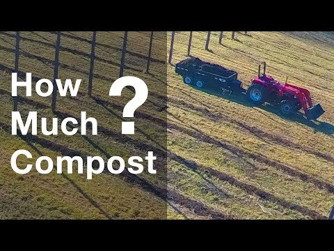 How Much Compost Do You Need On Farm?