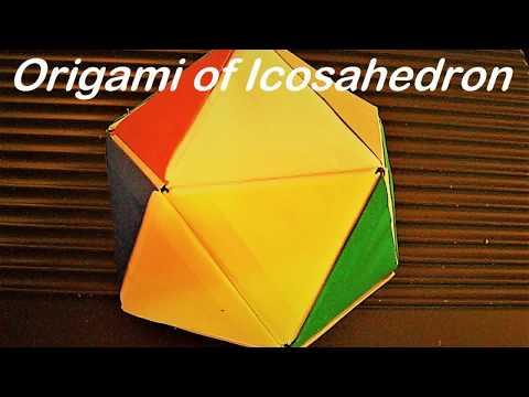Origami of Icosahedron
