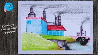 Save Water Save Earth Drawing For Beginners Stop Pollution Save