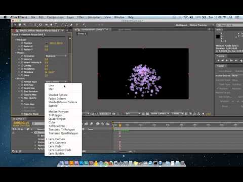 After Effects CC Particle Systems II Tutorial