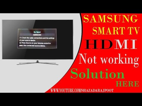 connect pc to samsung tv hdmi no signal | samsung tv says no signal hdmi cable box on but no signal