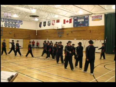 New Recruits at RCMP Youth Academy in Prince George