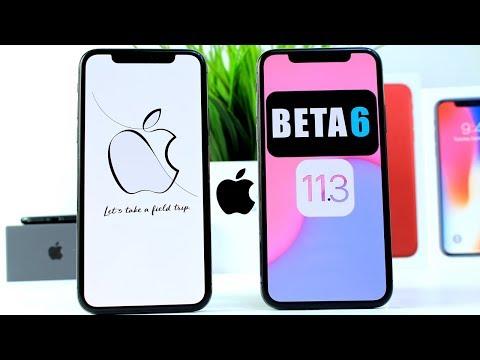 iOS 11.3 BETA 6   Apple Announces March Event & More
