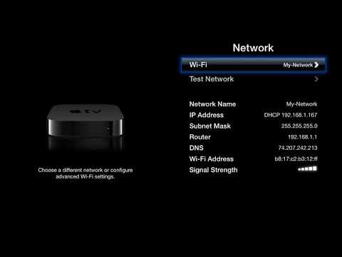 AppleTV (old version) Unblocking Setup Instructions (DNS)