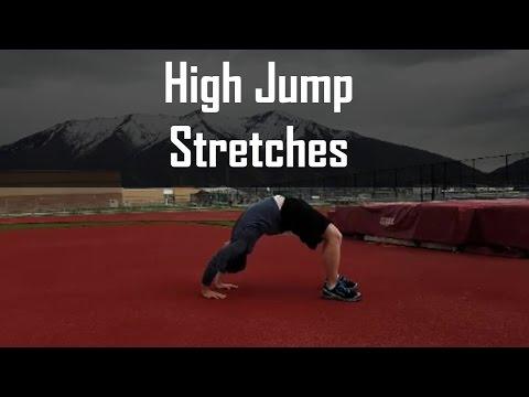 High Jump Stretches