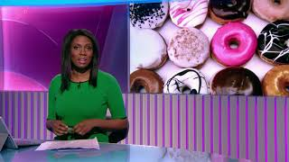 Claudia-Liza Armah opens her first 5 News bulletin