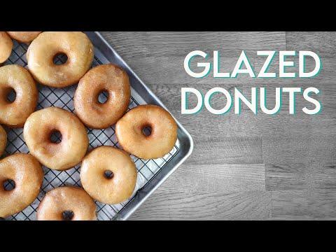 VEGAN KRISPY KREME DONUTS | Glazed Doughnut Recipe
