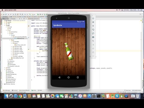 Learn to create Spin The Bottle Game on Android