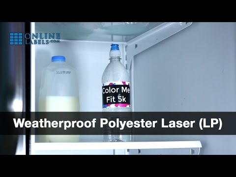 Weatherproof Polyester Laser Labels - See Features and Uses