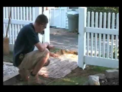 How to Install a Brick Walkway