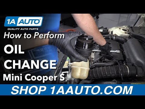 How to Perform an Oil Change 07-13 Mini Cooper S