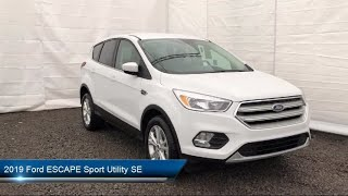 Download 2019 Ford ESCAPE Sport Utility SE Carthage Watertown Gouverneur Syracuse Utica Video