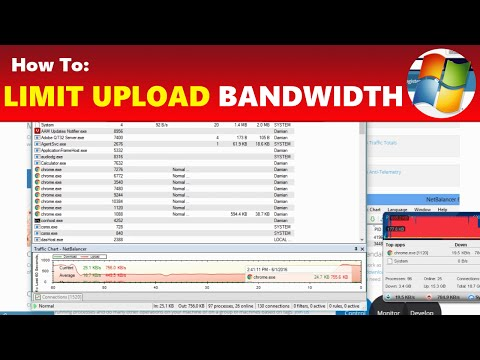 How To: Limit YouTube Upload Internet Bandwidth & Lower Ping