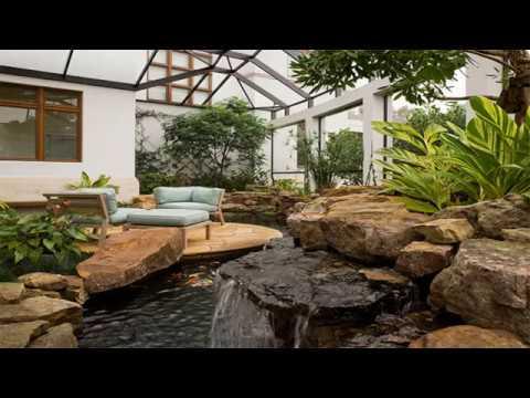 Outdoor Koi Ponds Design to Add a Refreshing Positive Garden Aura
