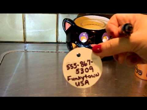 Retro Inspired Shrinking pet tags fast and easy!