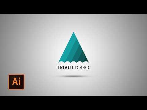 Illustrator cc Tutorial: How to make Triangle Logo (Color Swatch)