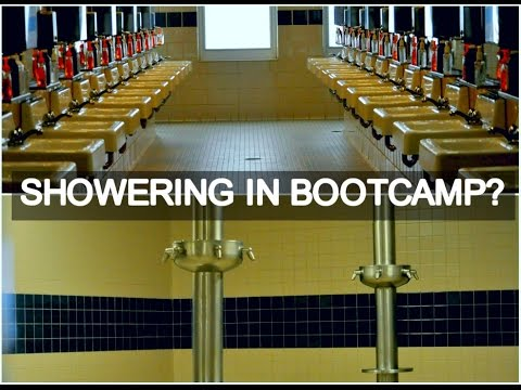 BOOTCAMP: SHOWERING (Not What I Expected)