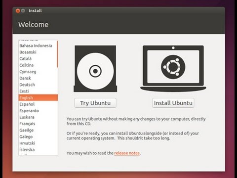 How to install Ubuntu  and make Swap Partition using a USB Flash drive [HD]