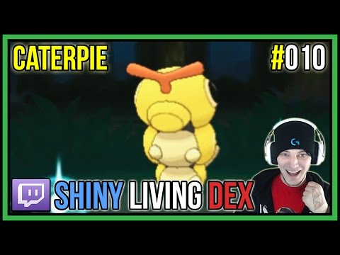 SHINY CATERPIE FROM POKERADAR | Shiny Living Dex #010 | Pokemon X and Y